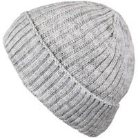 Accessoires textile Homme Bonnets Mokalunga Bonnet court Dakota Gris clair