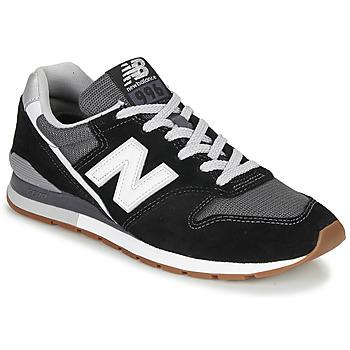 Chaussures Baskets basses New Balance 996 Noir / Blanc