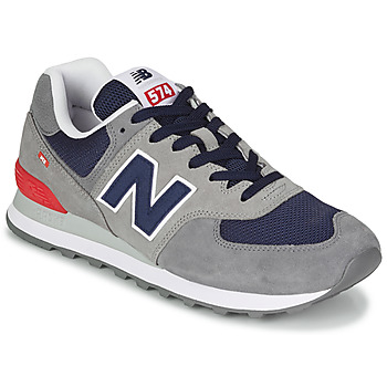 Chaussures Homme Baskets basses New Balance 574 Gris / Bleu / Rouge