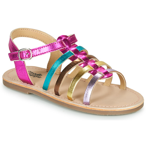 Chaussures Fille Sandales et Nu-pieds Citrouille et Compagnie MAYANA Multicolore