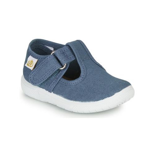 Chaussures Enfant Ballerines / babies Citrouille et Compagnie MATITO Bleu
