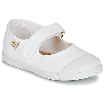 Chaussures Enfant Ballerines / babies Citrouille et Compagnie APSUT Blanc