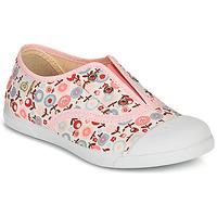 Chaussures Fille Baskets basses Citrouille et Compagnie RIVIALELLE Rose / Multicolore