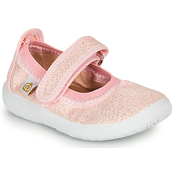 Chaussures Fille Ballerines / babies Citrouille et Compagnie MIRABEL Rose