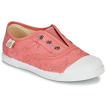 Chaussures Fille Baskets basses Citrouille et Compagnie RIVIALELLE Rose