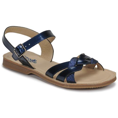 Chaussures Fille Sandales et Nu-pieds Citrouille et Compagnie MADELLE Marine