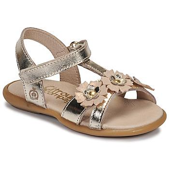Chaussures Fille Sandales et Nu-pieds Citrouille et Compagnie MARELLE Argenté