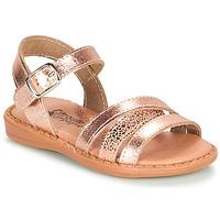 Chaussures Fille Sandales et Nu-pieds Citrouille et Compagnie IZOEGL Bronze