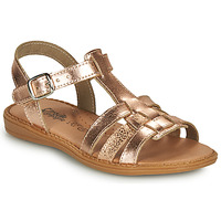 Chaussures Fille Sandales et Nu-pieds Citrouille et Compagnie ROLUI Bronze
