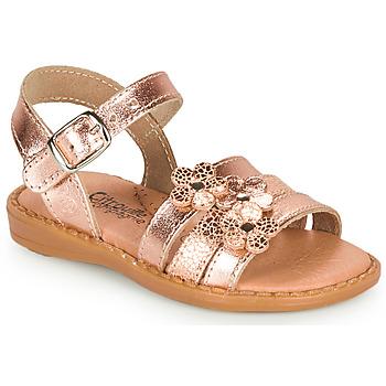 Chaussures Fille Sandales et Nu-pieds Citrouille et Compagnie KATAGUE Bronze
