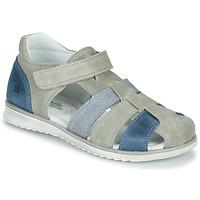 Chaussures Garçon Sandales et Nu-pieds Citrouille et Compagnie FRINOUI Gris