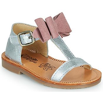 Chaussures Fille Sandales et Nu-pieds Citrouille et Compagnie MELINDA Rose gold