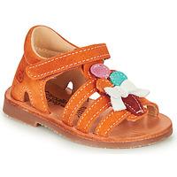 Chaussures Fille Sandales et Nu-pieds Citrouille et Compagnie MIETTE Orange