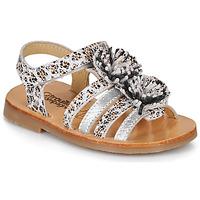 Chaussures Fille Sandales et Nu-pieds Citrouille et Compagnie MALINETTE Léopard