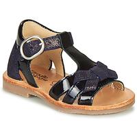 Chaussures Fille Sandales et Nu-pieds Citrouille et Compagnie MOLINETTE Marine
