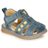 Chaussures Garçon Sandales et Nu-pieds Citrouille et Compagnie MARINO Marine