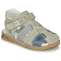 Chaussures Garçon Sandales et Nu-pieds Citrouille et Compagnie ZIDOU Gris