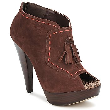 Chaussures Femme Low boots Via Uno KAMILA Marron