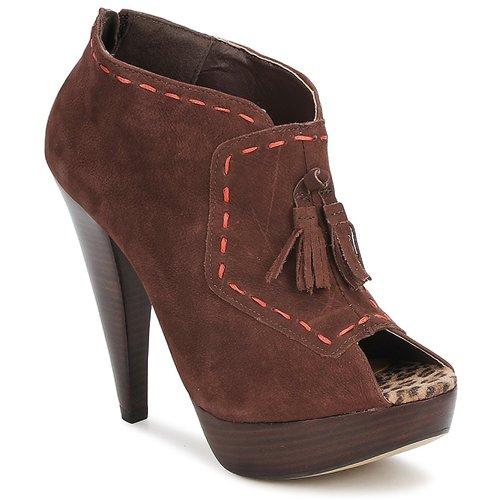 Marron Low Uno Boots Via Femme Kamila clFJTu3K1