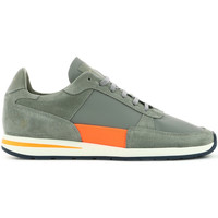 Chaussures Homme Baskets basses Piola Callao GRIS/ORANGE