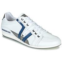Chaussures Homme Baskets basses Redskins WARREN Blanc / Bleu / Gris