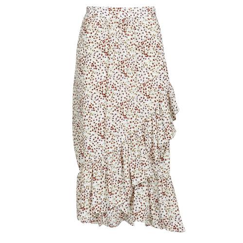 Vêtements Femme Jupes Betty London MADILOU Blanc / Rouge