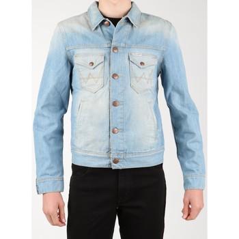 Vêtements Homme Vestes en jean Wrangler Denim Jacket W458QE20T niebieski
