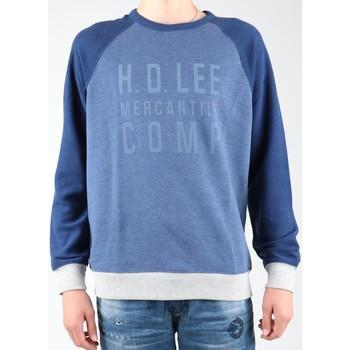 Vêtements Homme Polaires Lee Graphic Crew SWS L80ODELR niebieski