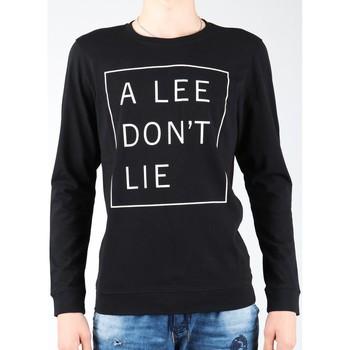 Vêtements Homme T-shirts manches longues Lee Don`t Lie Tee LS L65VEQ01 czarny, biały