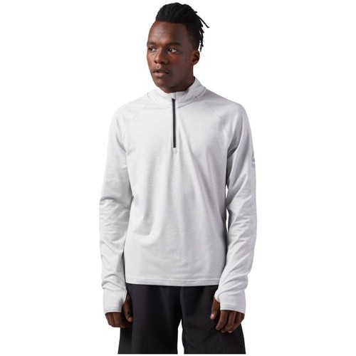 Vêtements Homme Sweats Reebok Sport Reflective Speedwick Quarter Zip