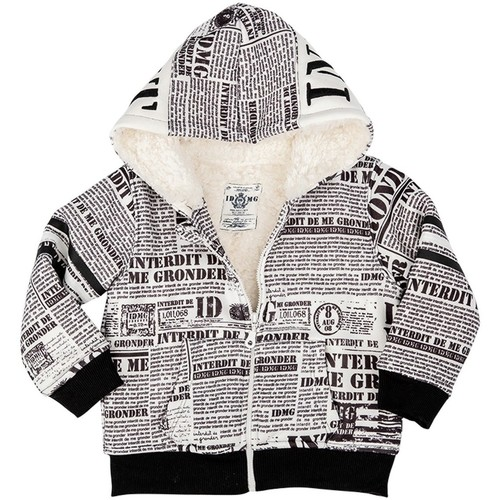 Vêtements Enfant Sweats Interdit De Me Gronder CODE Blanc