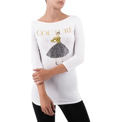 Vêtements Femme T-shirts & Polos Happiness | T-Shirt Ada, blanc | HAP_ADA_MX3061 blanc