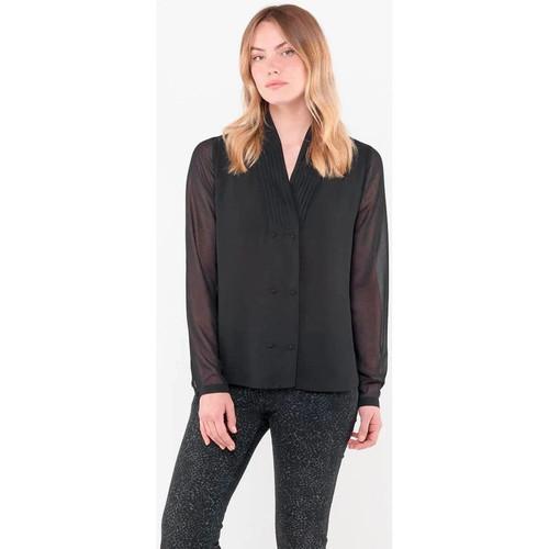 Vêtements Femme Chemises / Chemisiers Le Temps des Cerises CHE ANITA BLACK Noir