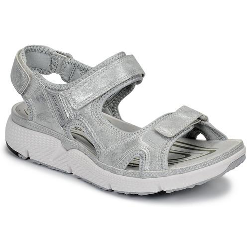 Chaussures Femme Sandales sport Allrounder by Mephisto ITS ME Argenté