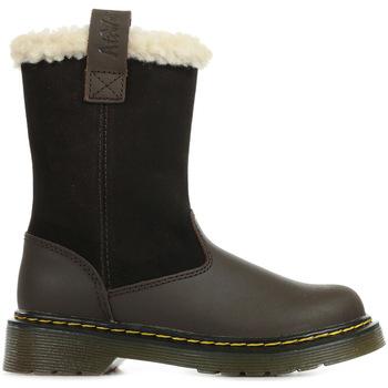 Chaussures Fille Bottes de neige Dr Martens Juney Junior marron