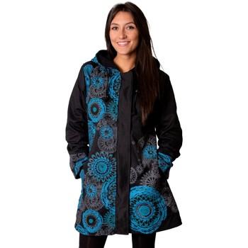 Vêtements Femme Manteaux Coton Du Monde Manteau LUGANO Bleu