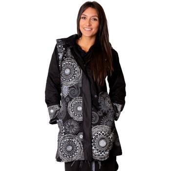 Vêtements Femme Manteaux Coton Du Monde Manteau LUGANO Gris