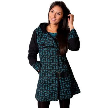 Vêtements Femme Manteaux Coton Du Monde Manteau OLENIO Bleu