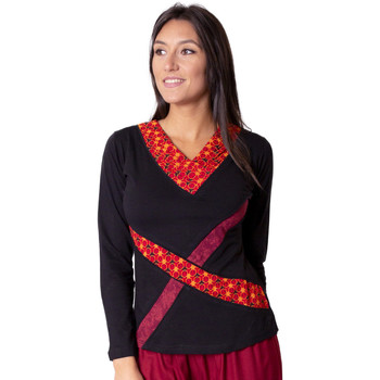 Vêtements Femme Tops / Blouses Coton Du Monde Denali Rouge