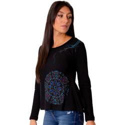 Vêtements Femme Tops / Blouses Coton Du Monde Kwani Noir
