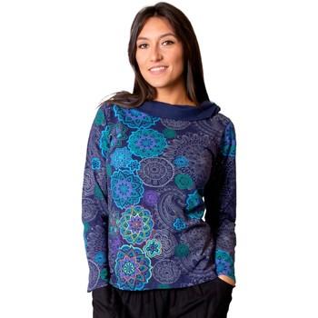 Vêtements Femme Tops / Blouses Coton Du Monde Top MALAWI Violet
