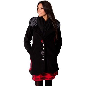 Vêtements Femme Manteaux Coton Du Monde Veste TENNESSEE Noir