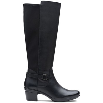 Chaussures Femme Bottes ville Clarks emslie march noir
