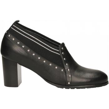 Chaussures Femme Derbies Essex VITELLO nero-argento