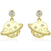 Montres & Bijoux Femme Boucles d'oreilles Blue Pearls CRY C2350 J Multicolore