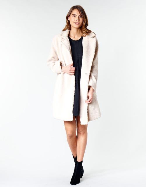 Vêtements Femme Manteaux Betty London  Beige