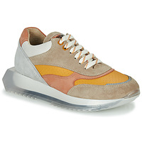 Chaussures Femme Baskets basses Bronx LINKK-UP Taupe / Rose / Gris