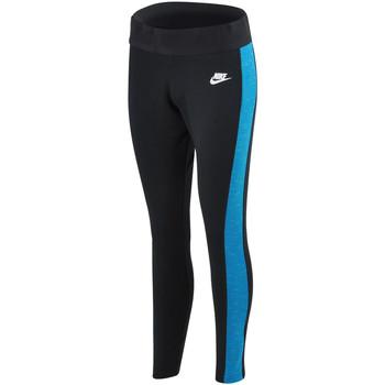 Vêtements Femme Pantalons de survêtement Nike Legging  Tech Fleece - Ref. 643059-015 Noir