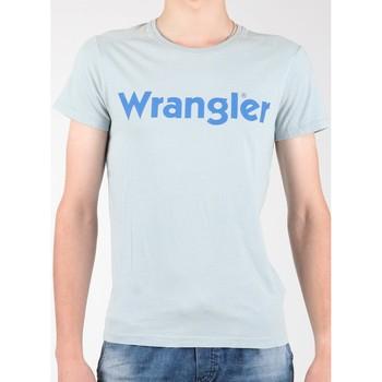 Vêtements Homme T-shirts manches courtes Wrangler S/S Graphic Tee W7A64DM3E szary