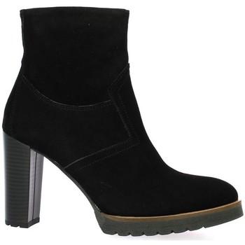 Chaussures Femme Boots Pao Boots cuir velours Noir